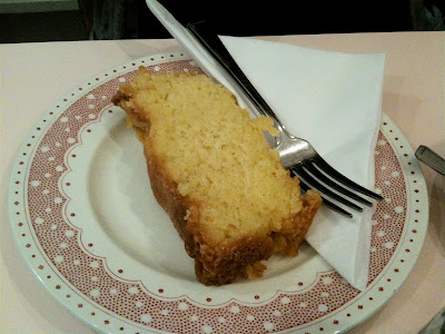 High Tea of Highgate lemon drizzle cake