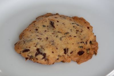Homemade lavender chocolate chip cookie