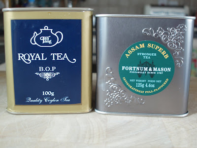 Royal Tea Fortnum and Mason tins