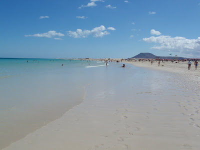 Fuertaventura Corralejo beach