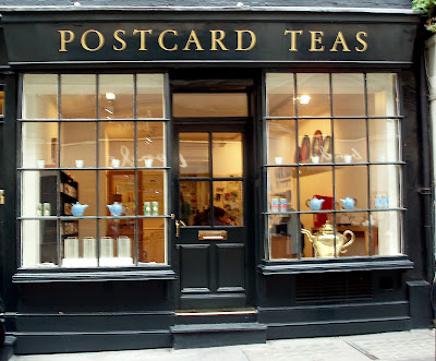 Postcard Teas Bond Street