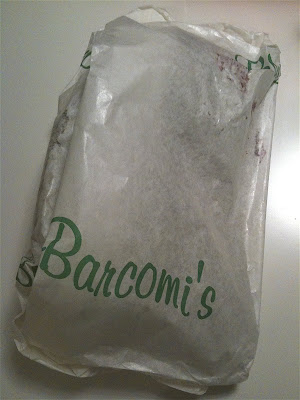 Barcomi's Mitte cake package take-away