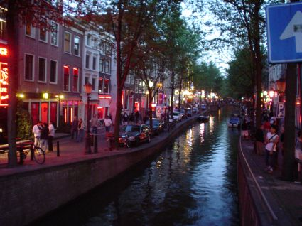 Amsterdam red light district Read Karup's Older Women Review