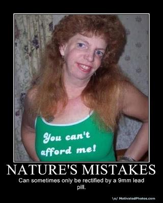 mutaciones y horrores naturales en fotos