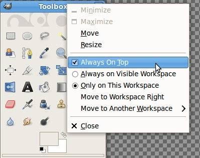 Toolbox GIMP
