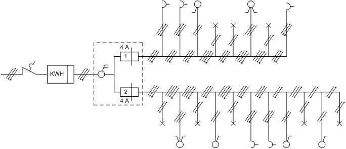 Wiring Diagram Instalasi Listrik : Ichsan pemasangan instalasi listrik rumah tinggal