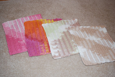 Baby Genius Burp Cloths Pattern - Knitting Patterns and