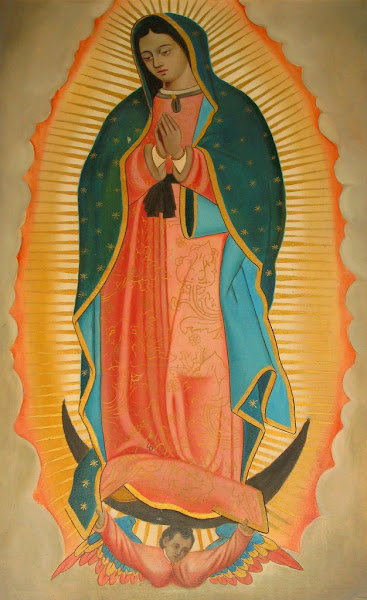 Our Lady Of Guadalupe Coloring Book Page