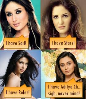 Katrina Kaif Priyanka Chopra Kareena Rani