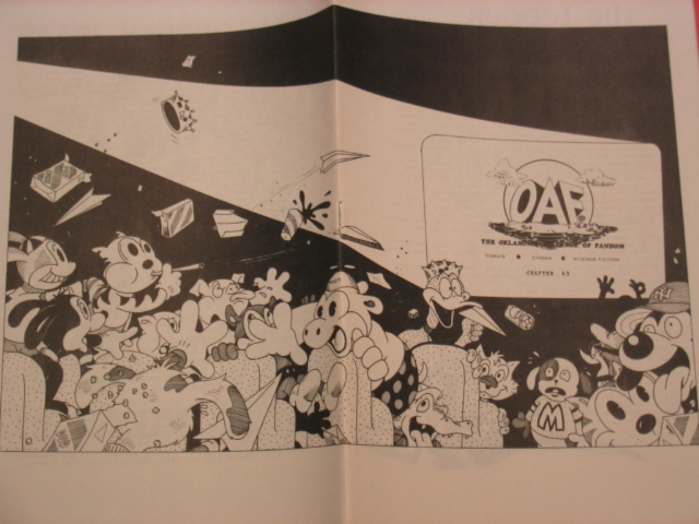 OAF #43 wraparound cover 1975