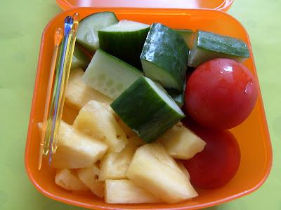 bento sayur buah