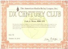 DXCC AWARD ARRL