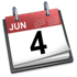 iCal Icon June 4th