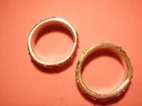 11 anillos tira abrillantados   Anillos de tira
