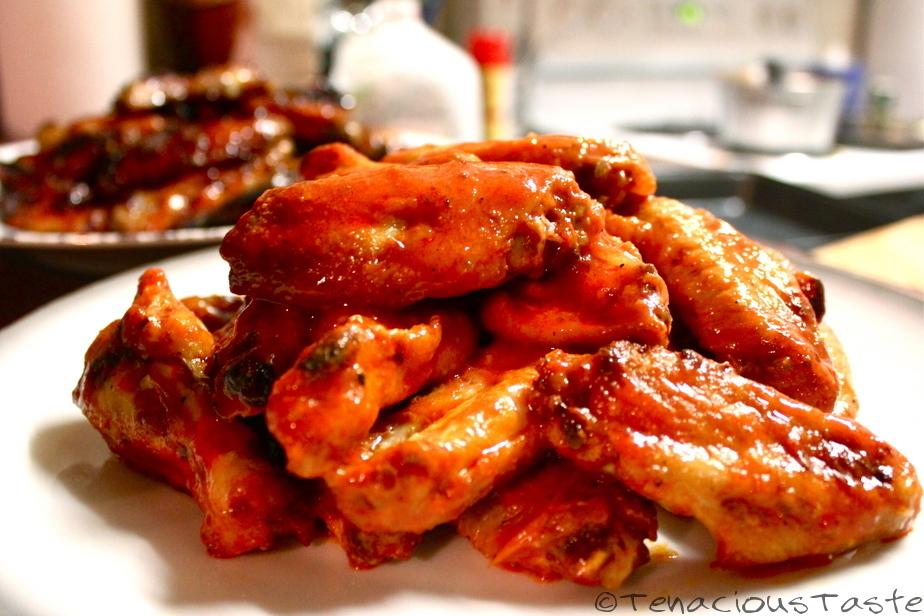 Tenacious Taste: Super Bowl - Super Dish: Baked Chicken Wings