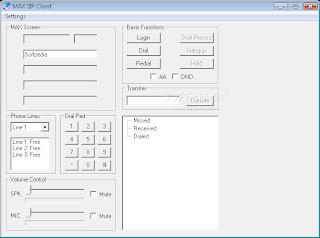 MAX SIP ActiveX 1.1