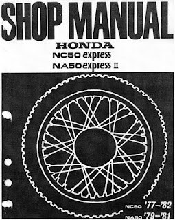honda express shop manual honda express moped scooter nc 50 1978 express ii, sr, urban 1980 honda express wiring diagram at edmiracle.co