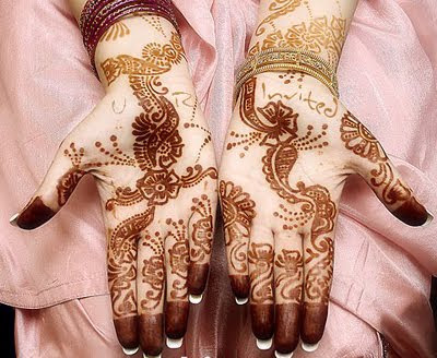Arabic mehndi designs photo