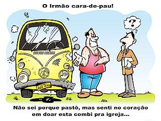 O IRMÃO CARA DE PAU