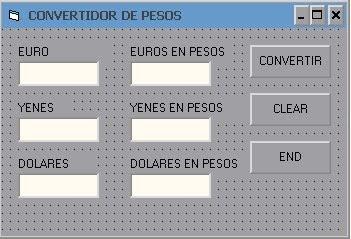 visual basic 60 convertidor de moneda