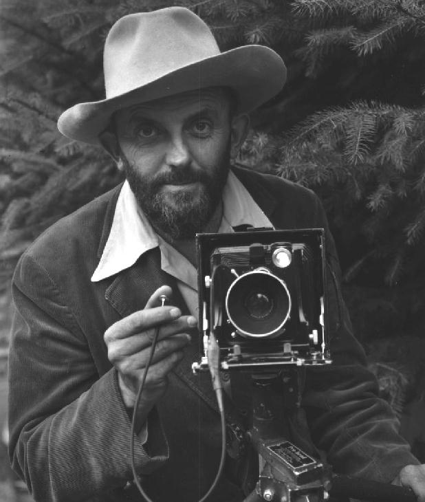 Ansel Adams He was known for his visionary photos of landscapes, that were mostly inspired from trips during his boyhood, to Yosemite National Park. He was born on 20th February, 1902. He was interested in black and white film, and was a commercial photographer for 30 years.