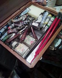 Mi maletin de pintura: