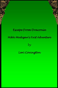 The Cover of Escape from Draconia