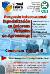 Posgrado en entornos virtuales