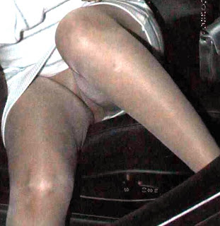 Busted in pantyhose