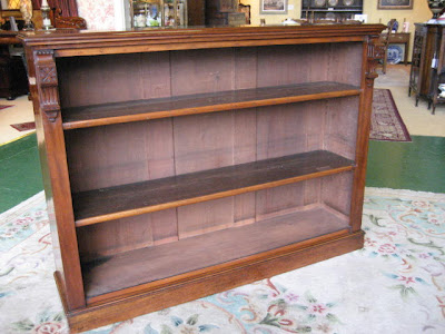 antique bookshelves north wales antiques