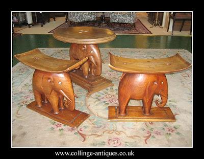 ashanti stools