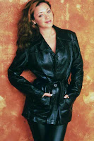 Leah Remini Leather