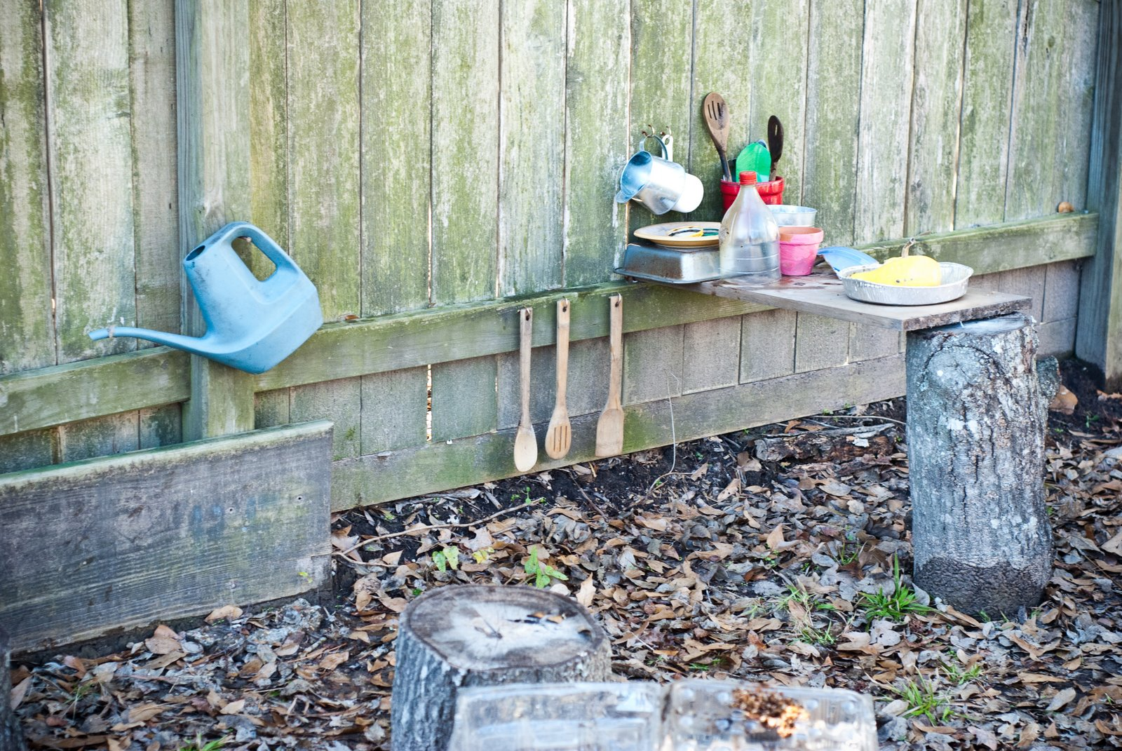 Teach Your Children Well Outside Play Kitchen
