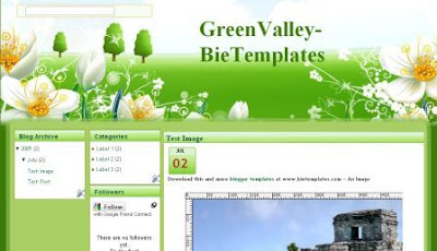 gardening blogger template