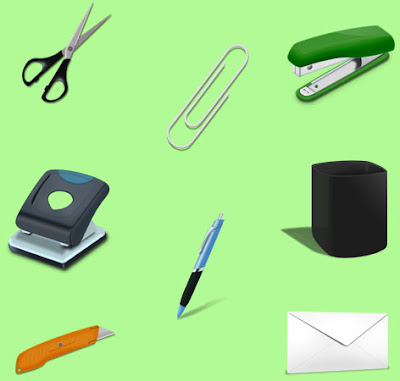 Office Tools Work Icons