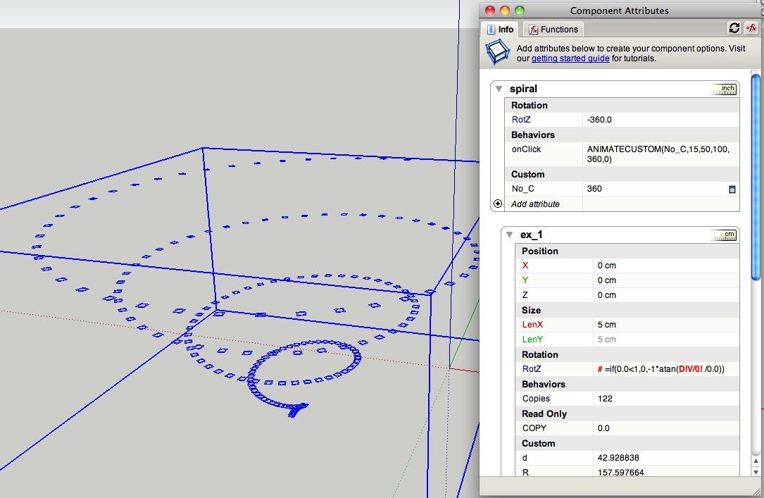 Cloud9 dynamic components parametric design for Cloud 9 architecture