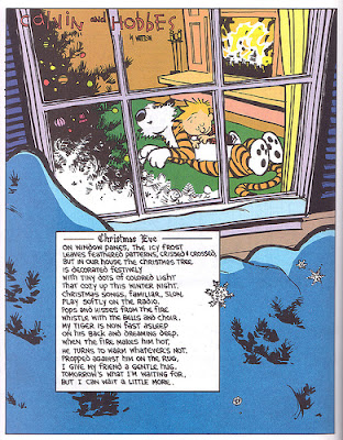 Calvin and Hobbes Christmas Eve by Bill Watterson