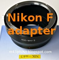 Nikon F adapter