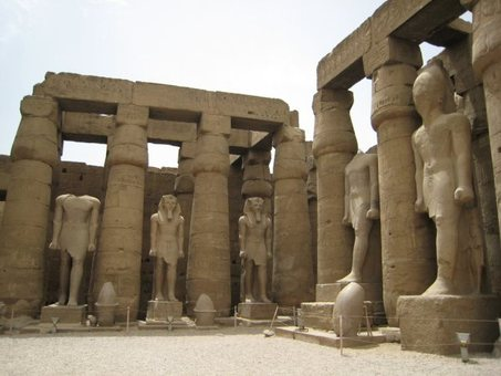Flower of Light: LUXOR TEMPLE - The Temple of Man