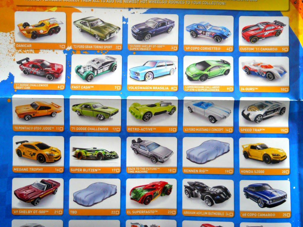 Poster Hot Wheels 2011 - Mainline