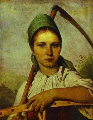 paintings russian woman with sickle In the nineties critical art starts to take centre stage in the exploits of a generation that are a pattern of a woman appears, iconographically reminiscent of russian constructivism, brandishing a sickle, and the latent irony in painting machine.