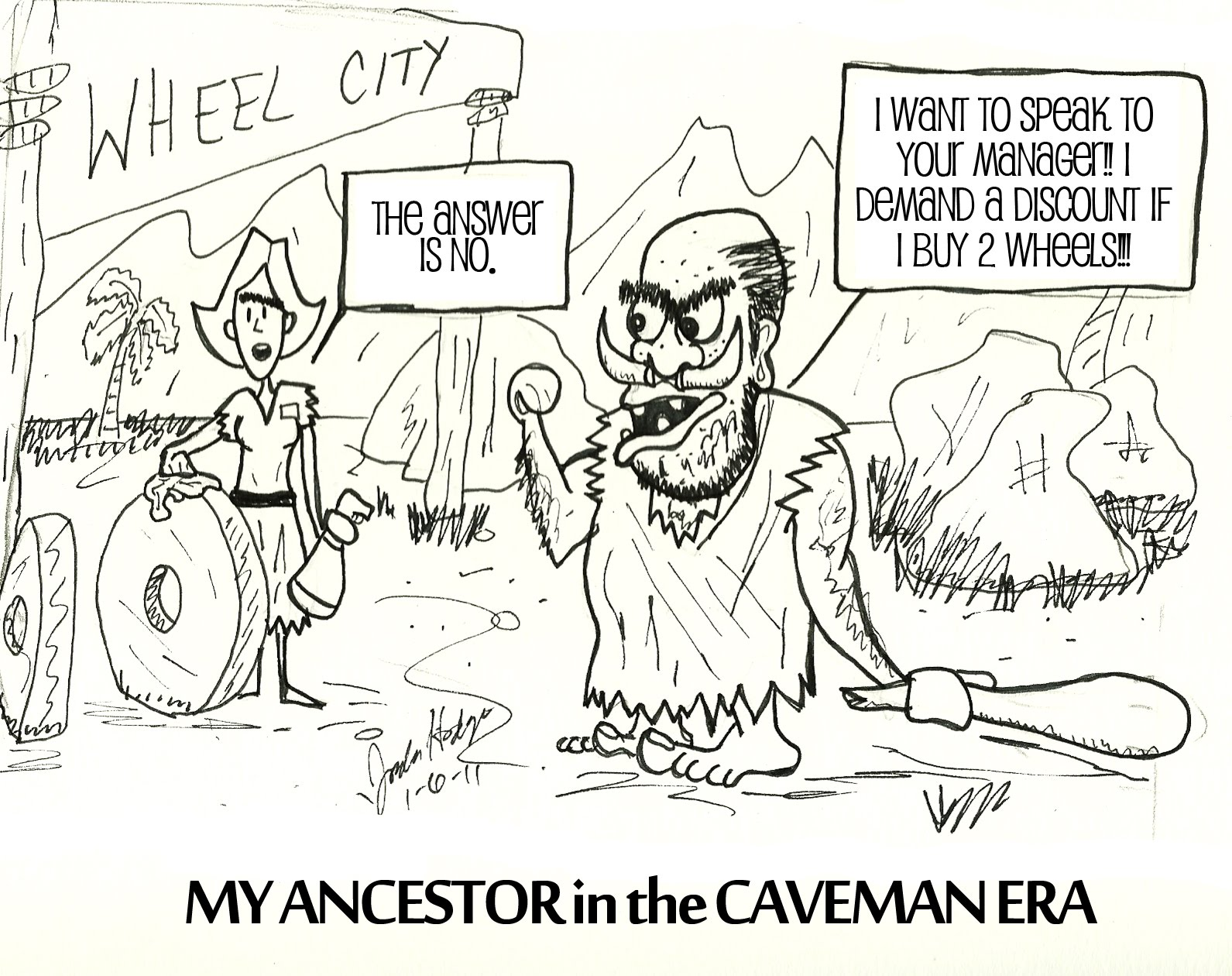 my life as a servant to humanity my ancestor in the caveman era