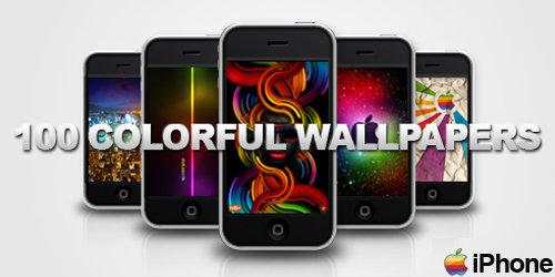 colorful iphone wallpapers