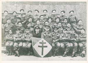 COMMANDOS KIEFFER Commando+Kieffer+en+1941