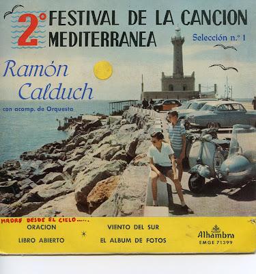 RAMÓN CALDUCH-LIBRO ABIERTO (1960)