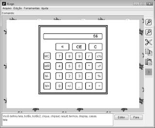 calculadora no xLogo