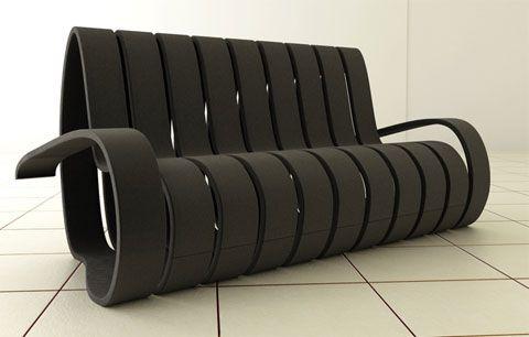 Sofa computer desk chair
