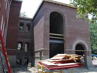 College Hall expansion