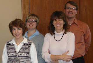 2010 Bluffton University public relations team