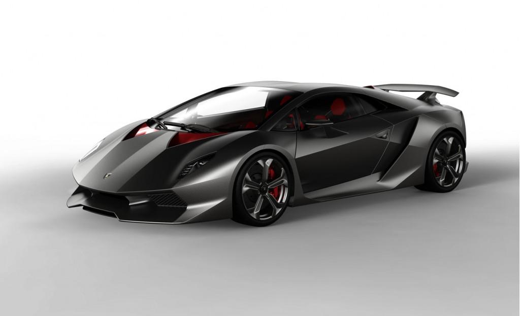 Nearly 2011 Lamborghini Sesto Elemento unveiled in automobile market.